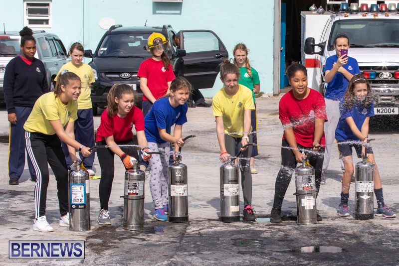BHS Students Visit Hamilton Fire Station Bermuda, January 31 2019-6373
