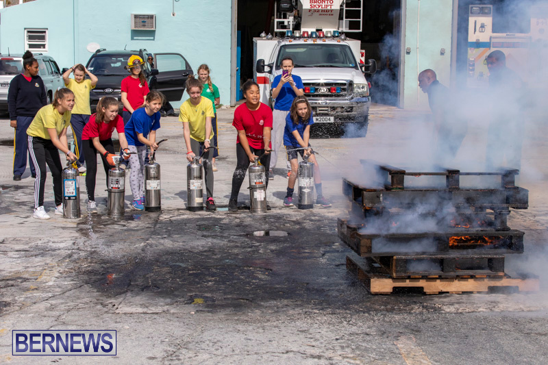 BHS Students Visit Hamilton Fire Station Bermuda, January 31 2019-6378