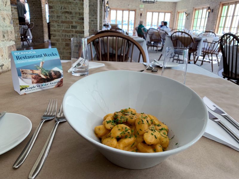 Bermuda Pumpkin Gnocchi January 2019