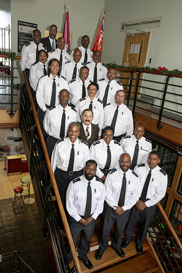 Corrections Promotion Ceremony Bermuda Jan 21 2019