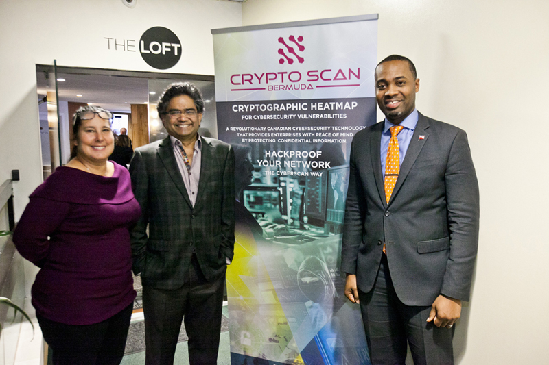 CryptoScan Bermuda Partners with PomeGran Jan 2019 (3)