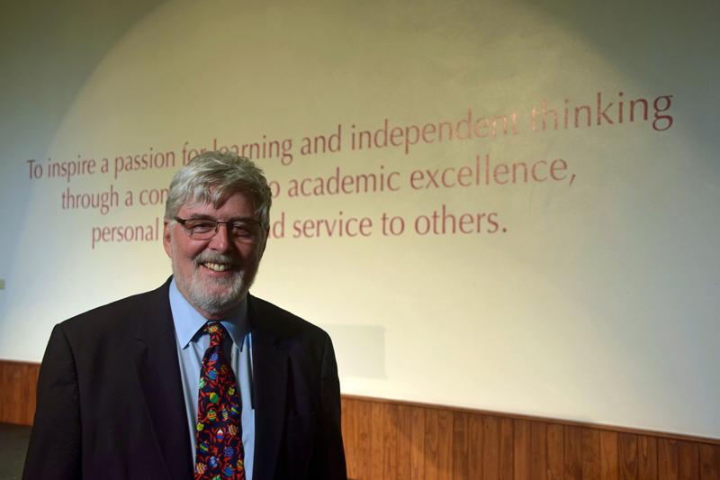 Dr Michael Thompson Bermuda January 2019