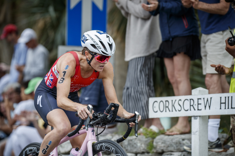 Flora Duffy Solo Ride in WTS Bermuda