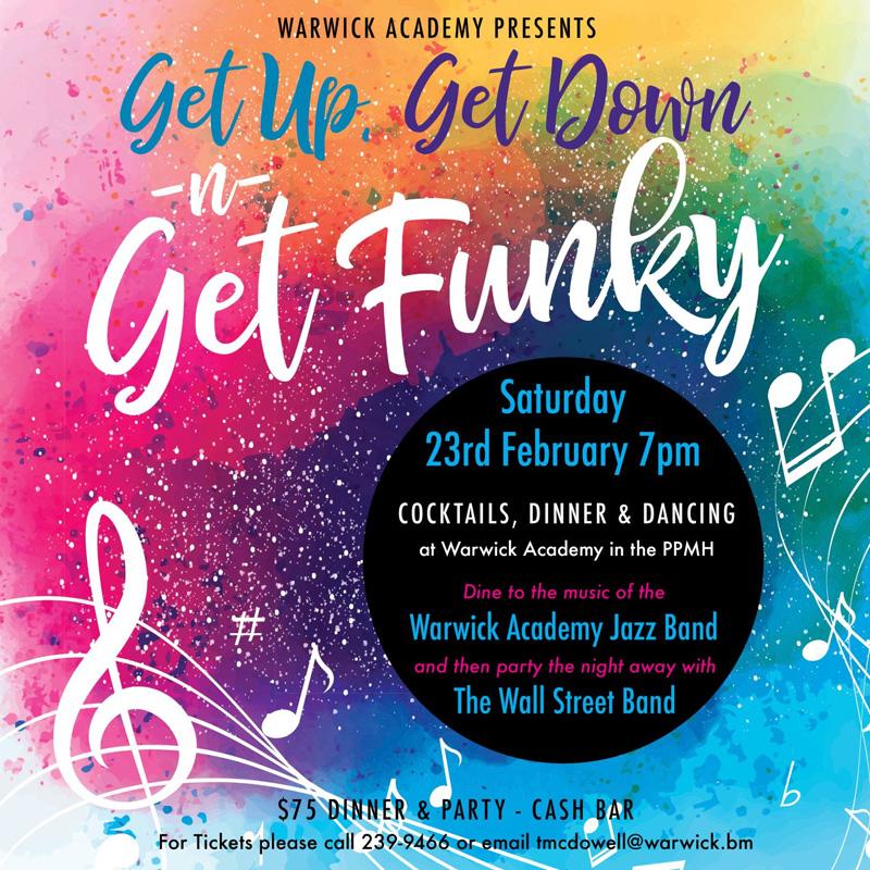 Get Up Get Down n Get Funky Bermuda February 2019