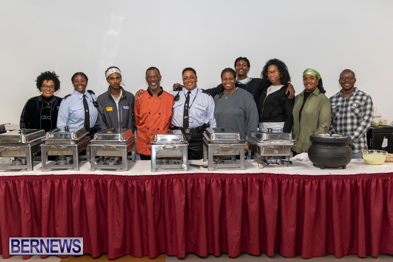 Police Eastern Community Action Team Community Dinner Bermuda, January 6 2019-8767
