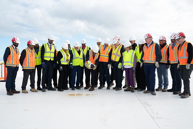 Roof Wetting Bermuda Jan 24 2019