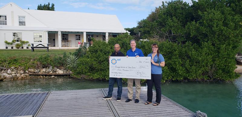 Sol Bermuda supports BIOS Ocean Academy Program Jan 2019