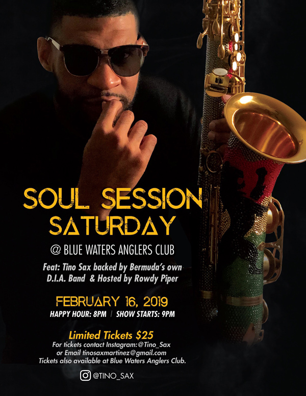 Soul Session Saturday Bermuda February 2019