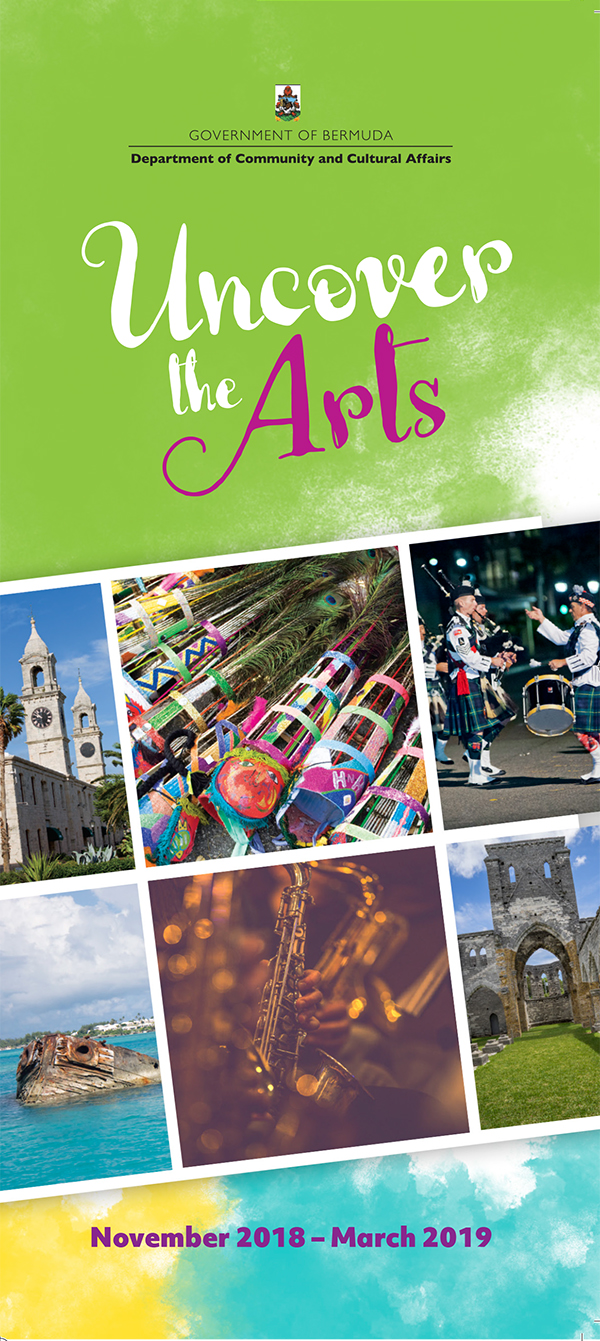 Uncover the Arts brochure - 2018-1