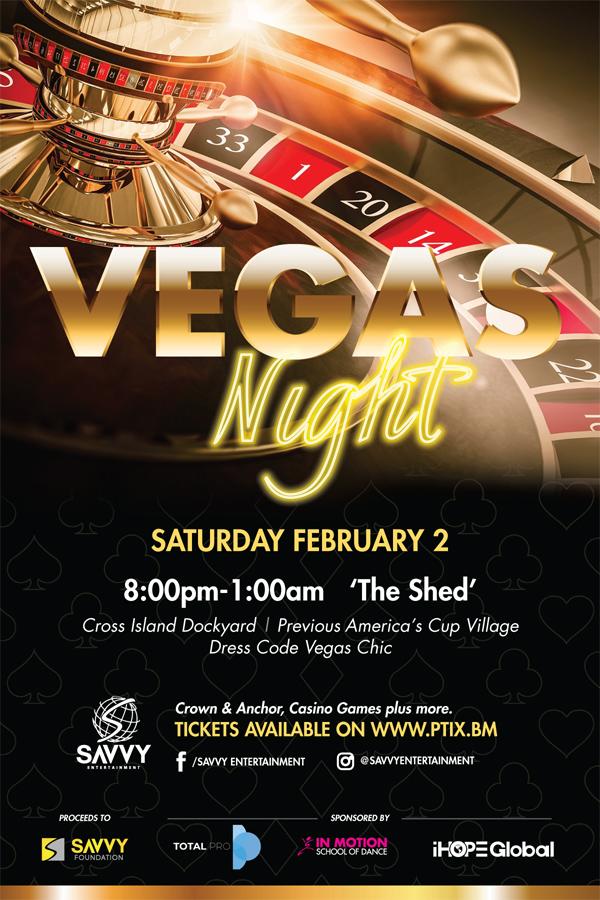 Vegas Night Bermuda January 2019