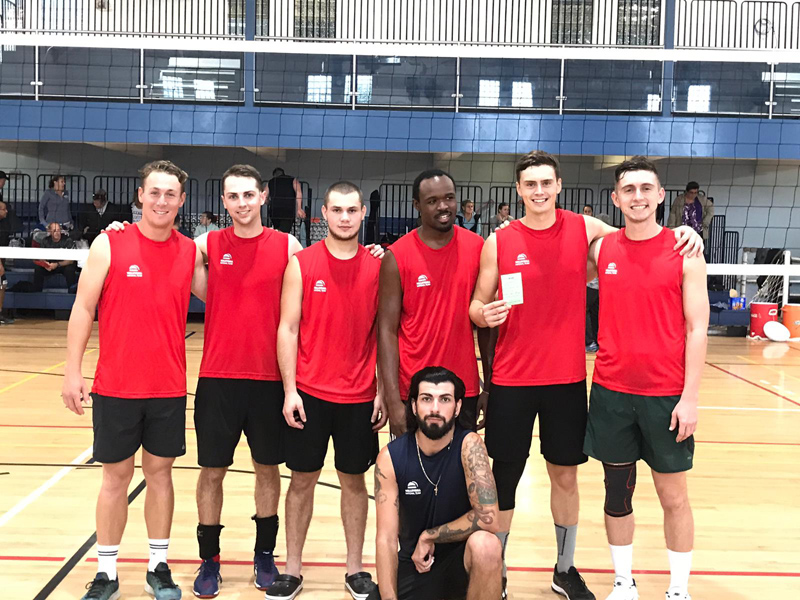 Volleyball Men's 1st Place Bermuda Jan 2019