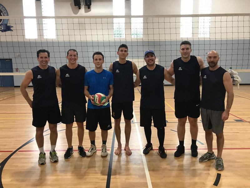 Volleyball Men's 2nd Place Bermuda Jan 2019