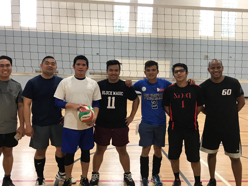 Volleyball Men's 3rd Place Bermuda Jan 2019