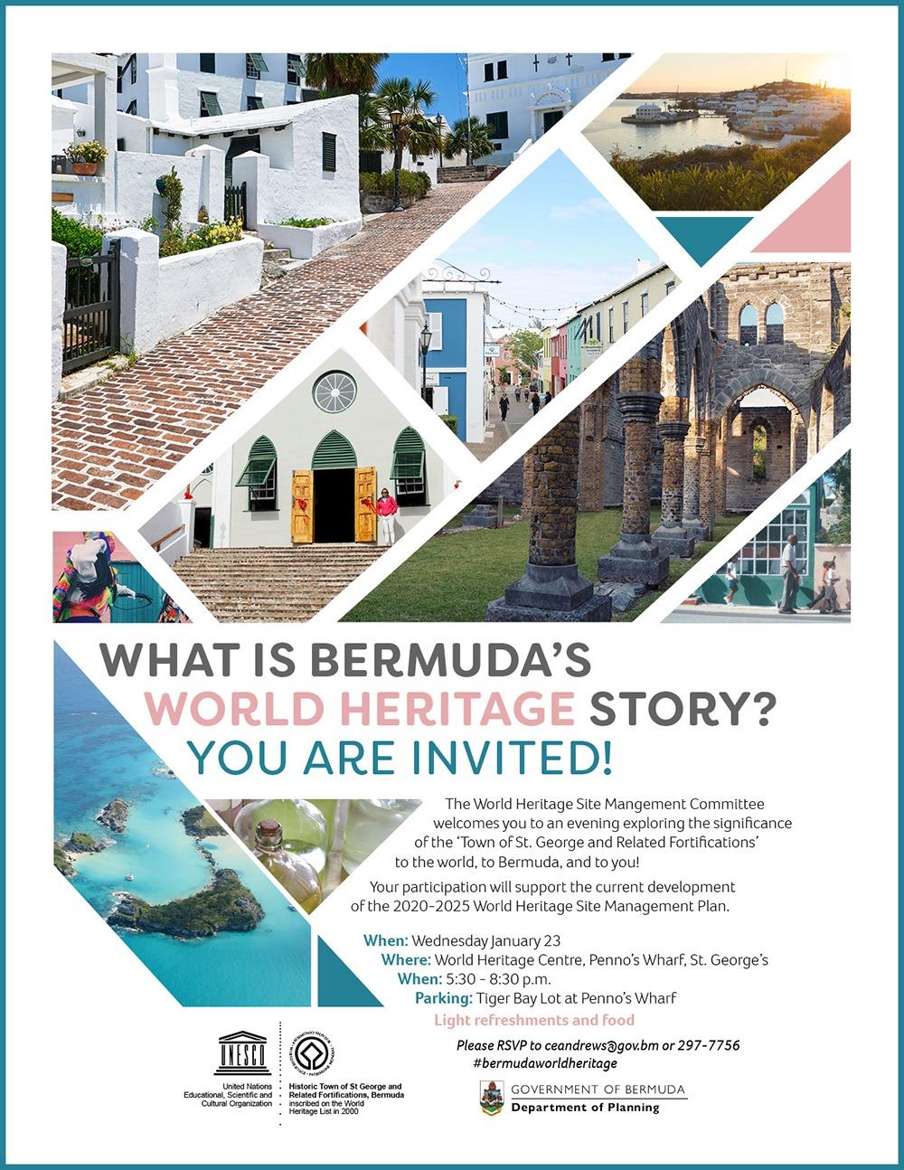 World Heritage Bermuda Jan 15 2019