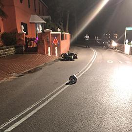 fatal collision Bermuda Jan 17 2019