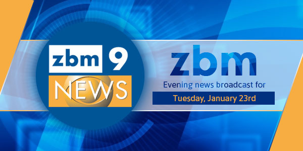 zbm 9 news Bermuda January 23 2018 tc