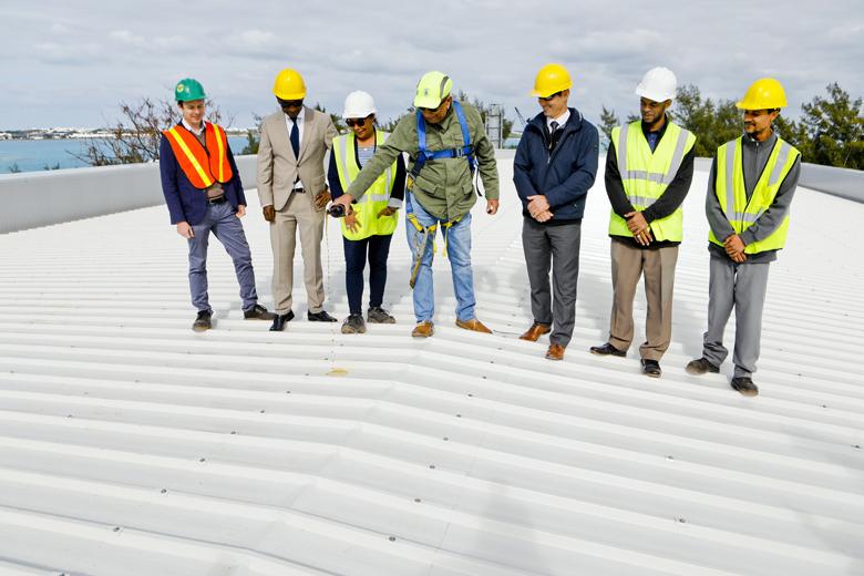 Artemis Building Roof Wetting Bermuda Feb 20 2019 (1)