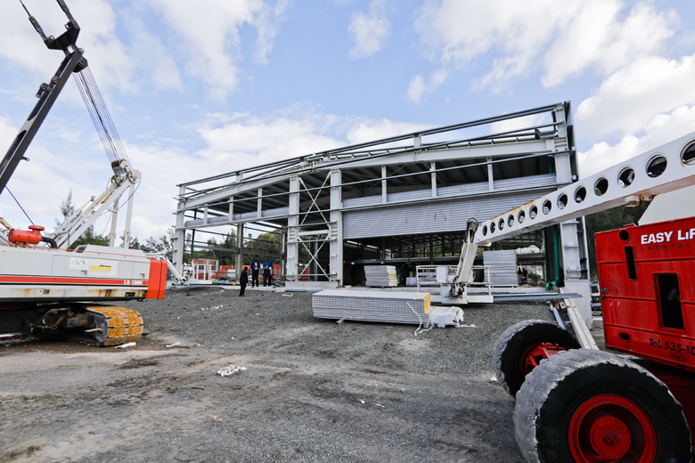 Artemis Building Roof Wetting Bermuda Feb 20 2019 (4)