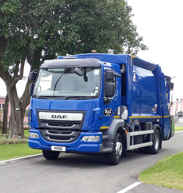 Bermuda Garbage Truck February 2019