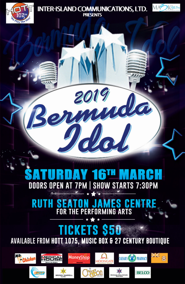 Bermuda Idol March 2019