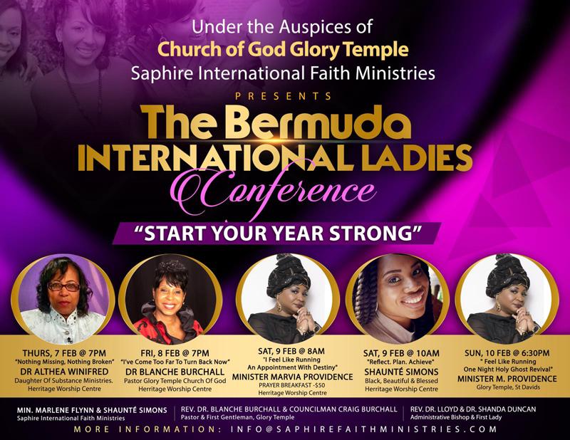 Bermuda International Ladies Conference February 2019