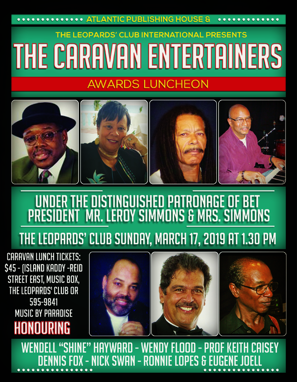 Caravan Entertainers Bermuda March 2019