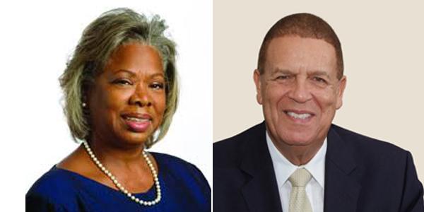 Dame Jennifer Smith and Sir John Swan Bermuda Feb 2019 TWFB