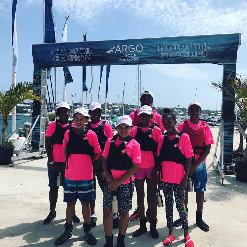 Endeavour Graduates at 2018 Argo Group Gold Cup