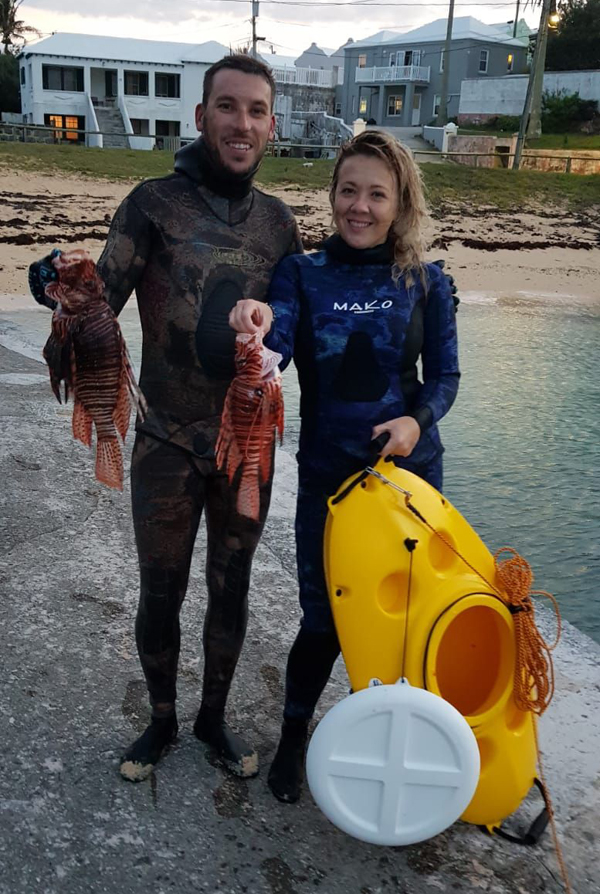 Fifth Winter Lionfish Derby Bermuda Feb 2019 (30)