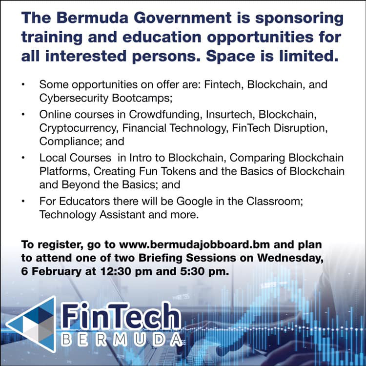 FinTech Bermuda February 2019