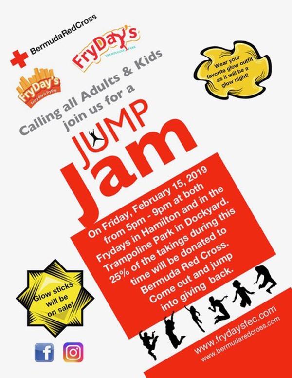FryDays Jump Jam Bermuda Feb 2019