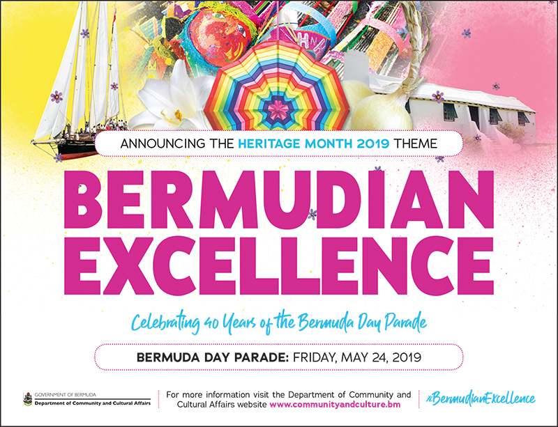 Heritage Month Theme Bermuda Feb 15 2019