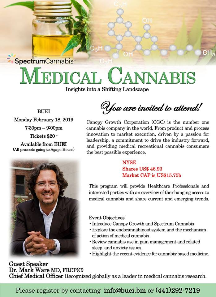 Medical Cannabis Insights Into Shifting Landscape Bermuda Feb 2019