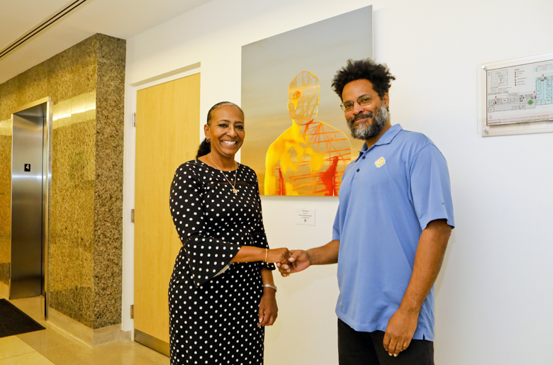 Minister with Alan Smith Bermuda Feb 2019