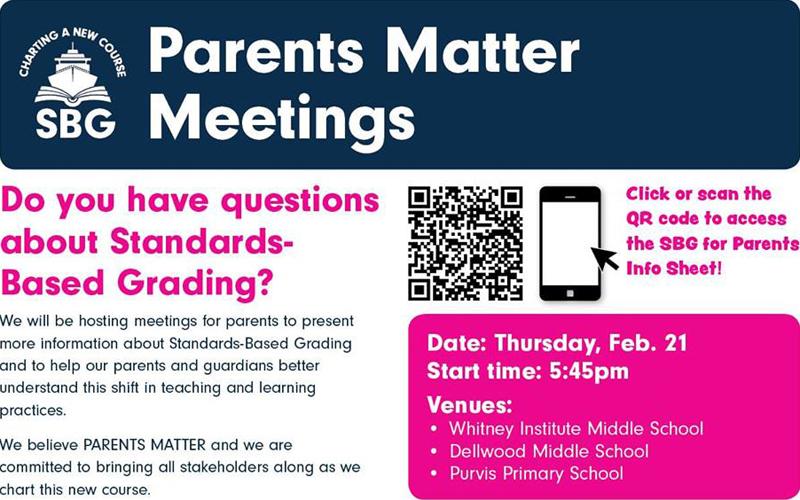 SBG Parents Matter Meeting Bermuda Feb 2019