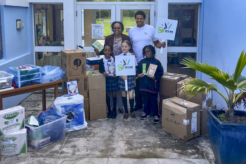 Support Public Schools Team Delivering Supplies Bermuda, February 27 2019-08-4