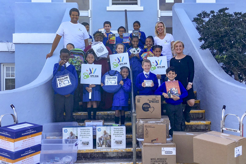 Support Public Schools Team Delivering Supplies Bermuda, February 27 2019-08-5
