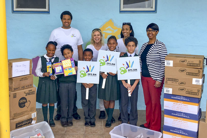 Support Public Schools Team Delivering Supplies Bermuda, February 27 2019-09-4