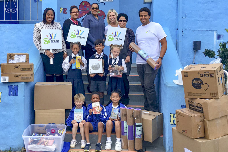 Support Public Schools Team Delivering Supplies Bermuda, February 27 2019-09-5