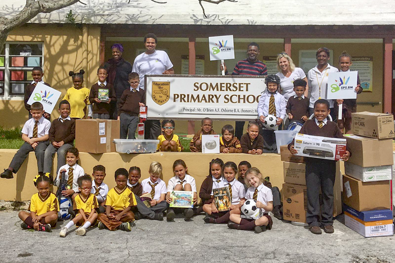 Support Public Schools Team Delivering Supplies Bermuda, February 27 2019-09-8