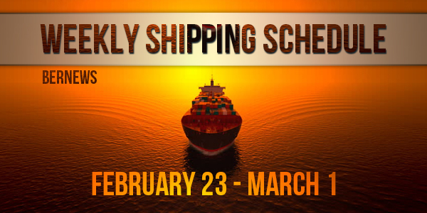 Weekly Shipping Schedule TC Feb 23 - Mar 1 2019