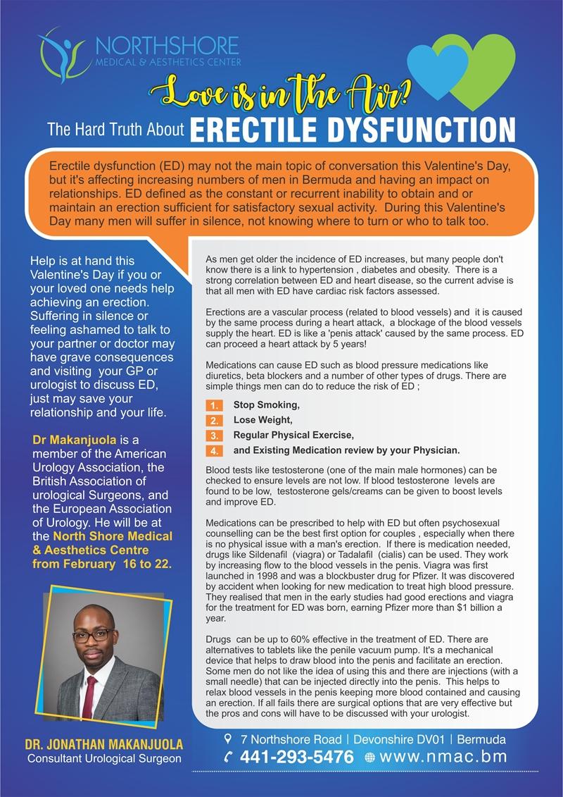 hard truth of Erectile Dysfunction