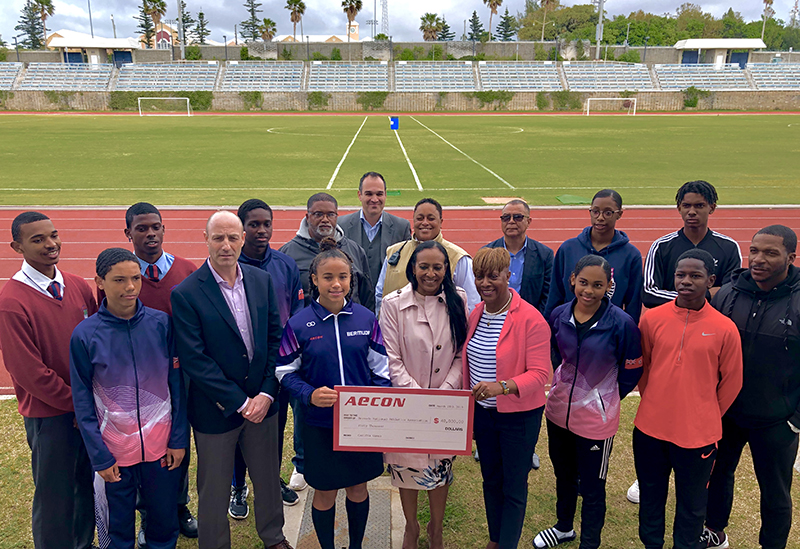 Aecon's Carifta sponsorship Bermuda March 31 2019