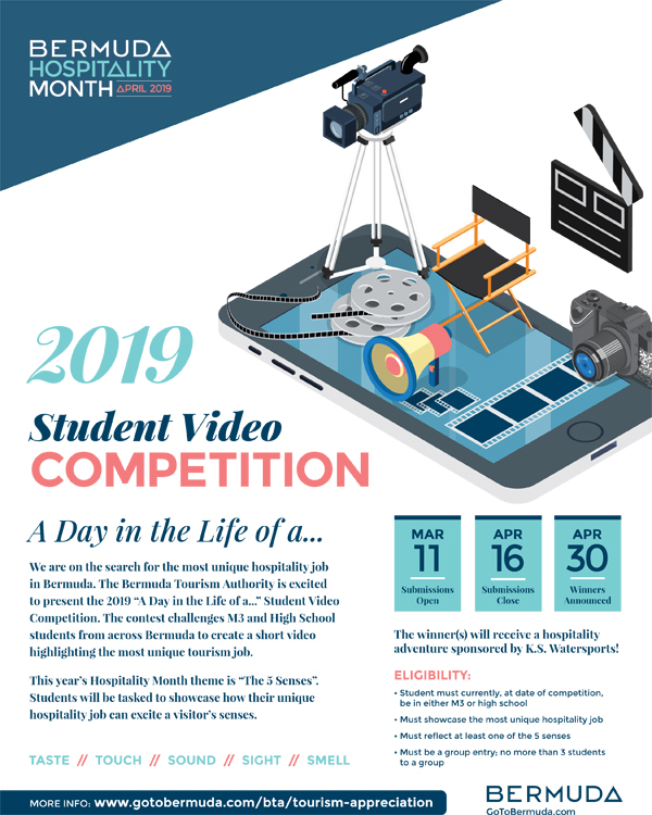 BHM Student Video Competition Bermuda March 2019