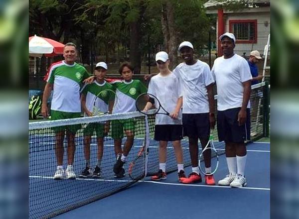 Bermuda's U14 Boys Tennis team March 2019 (1)