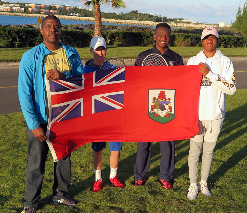 Bermuda Tennis Team March 2019
