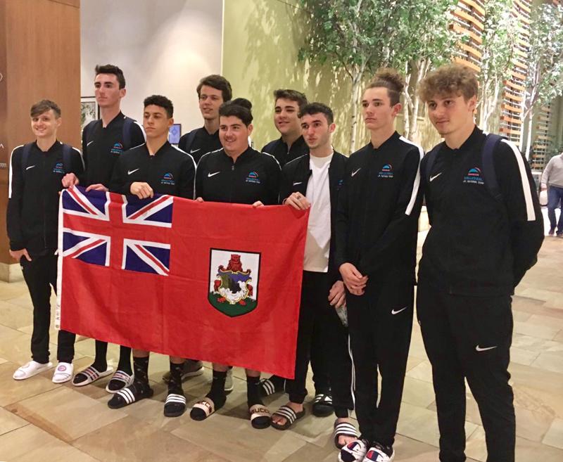 Bermuda's Junior National Volleyball Team March 2019 (2)