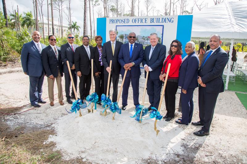 CGI Freeport Groundbreaking Bermuda March 2019