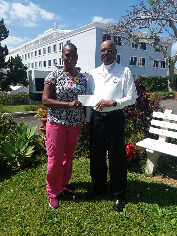 Dorette Jones and Fred Stovell Bermuda March 2019