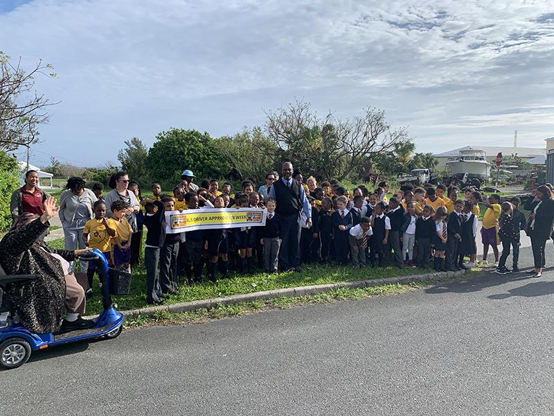 EEP Bus Driver Appreciation Week Bermuda March 4 2019 2